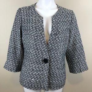 Coldwater Creek textured blazer, size large